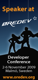 Oredev 2009 Slides and Code
